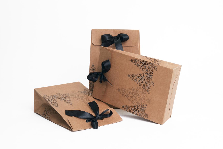 Pochette cadeau en papier kraft paperbag art fabriquant d - Pochette en papier ...